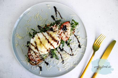Бутерброд с авокадо и яйцом пашот   Пошаговый рецепт с фото   nadoprobovat.ru